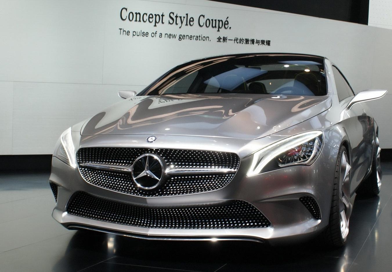 Mercedes benz style coupe concept un coupe de cuatro for Mercedes benz modelos