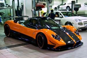 Pagani Zonda Cinque: un coupe solo para millonarios