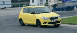 Skoda Fabia RS 2012: un pequeo con un poderoso motor