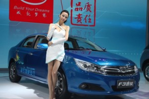 BYD F3 modelo 2012: más fresco y actual