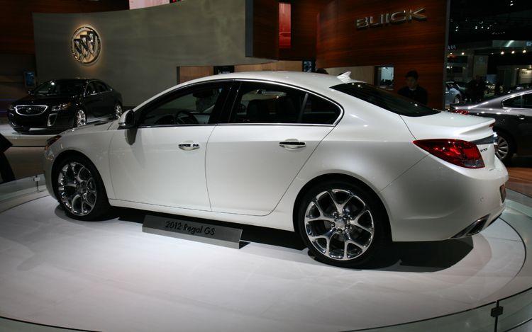 Buick Regal 2012 Un Sed 225 N De Lujo Con Aires Deportivos
