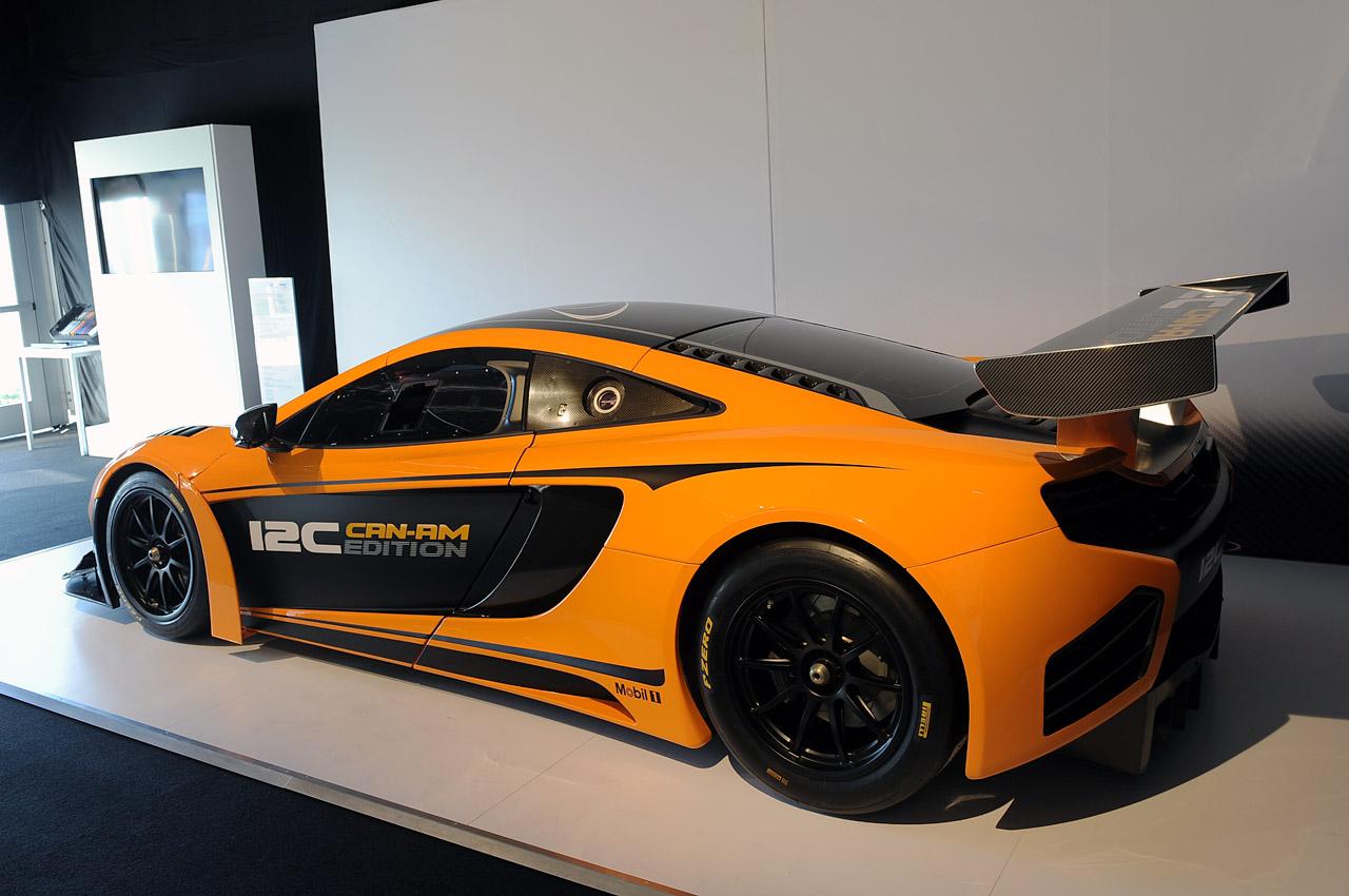 mclaren presenta el carro de carreras 12c can am edition lista de