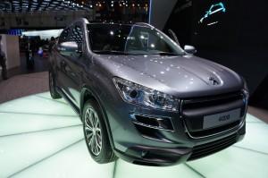 Peugeot 4008 modelo 2012: un Crossover con genes japoneses