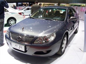 BYD F6 2012: el más accesible de los sedanes grandes