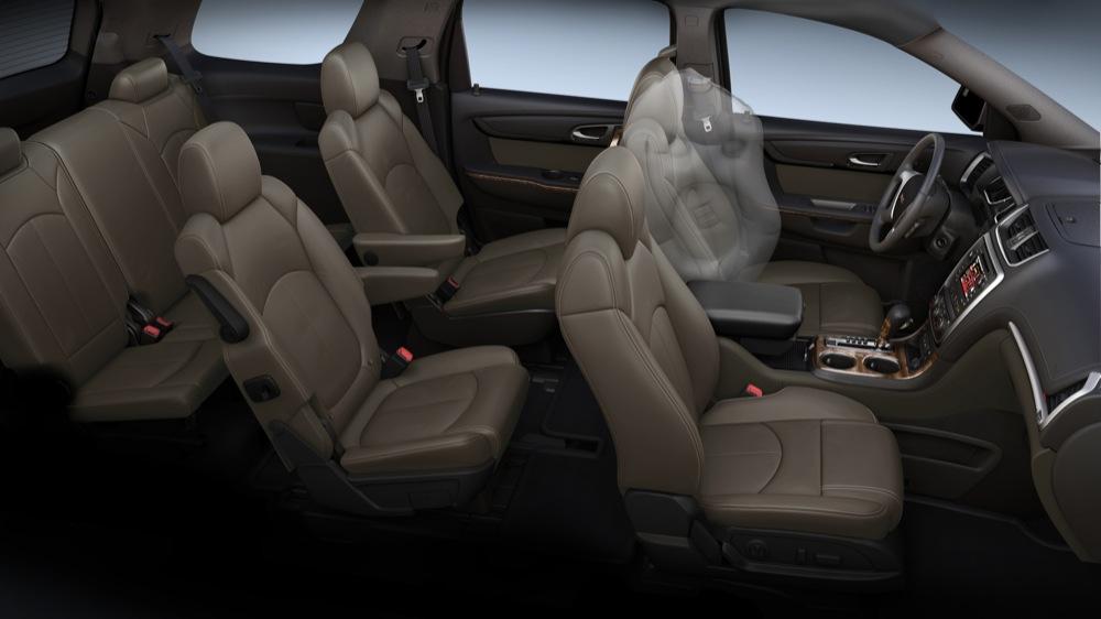 interior del gmc acadia 2012 lista de carros. Black Bedroom Furniture Sets. Home Design Ideas