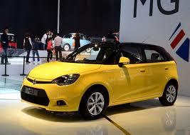 MG3 modelo 2012: moderno, atrevido y juvenil