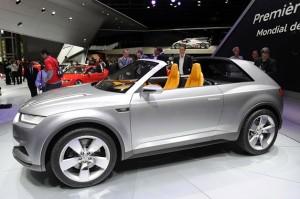 Salón de París 2012: Audi Crosslane Coupe concept