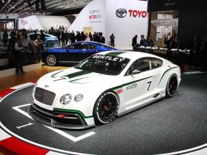 Novedades del salón de parís 2012: Bentley Continental GT3