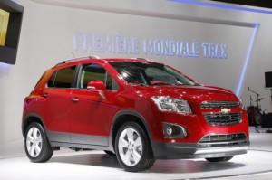 Salón de París 2012: Chevrolet Trax