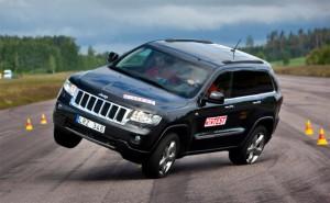 Según prueba el Jeep Grand Cherokee tiende a volcarse
