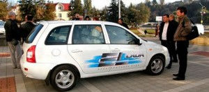 Lada EL, un carro eléctrico Ruso