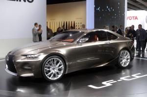 Salón de París 2012: Lexus LF-CC Concept