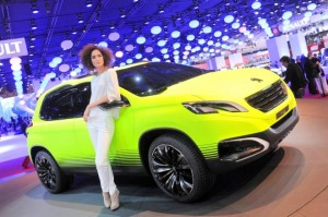 Salón de Paris 2012: Peugeot 2008 Concept