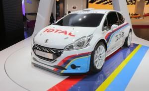 Peugeot 208 Type R5: llegará al mercado en el segundo semestre de 2013.