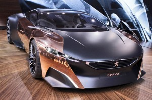 Salón de París 2012: Peugeot Onyx Concept