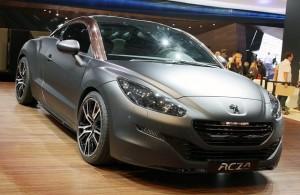 Salón de París 2012: Peugeot RCZ R Concept