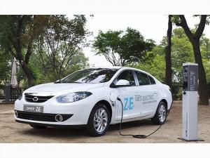 El carro eléctrico Renault-Samsung SM3 ZE llegará en el 2013