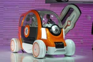 Suzuki Q-Concept: un atractivo carro eléctrico