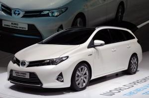 Noticias del Salón de París 2012: Toyota Auris Touring Sports