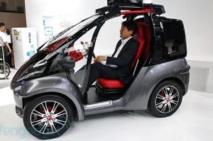 Toyota Smart INSECT Concept: un carro unipersonal para el futuro