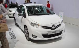 Salón de París de 2012: Toyota Yaris Trend.