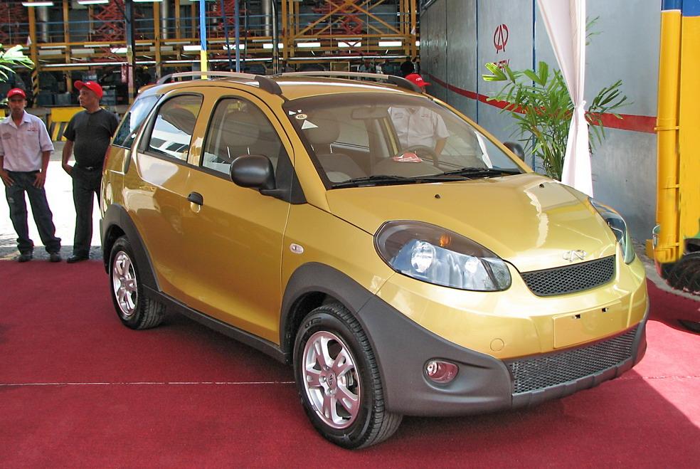 Chery Arauca 2012: Tiene como rivales al BYD F0, Chevrolet Spark ...