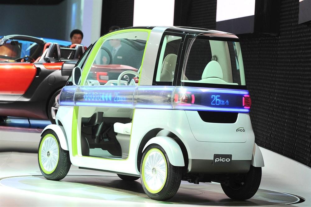 Daihatsu Pico EV Concept: un diminuto y futurista carro eléctrico ...