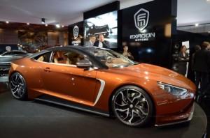 Exagon Furtive eGT: Un Coupe deportivo eléctrico francés de 400CV