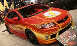 Kia Forte Koup The Flash inspired: Otro sper hroe que llega a salvar al mundo