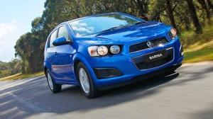 Holden Barina Classic 2012: un Hatchback de corte juvenil