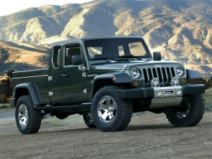 Jeep Gladiator Concept 2015= Un Jeep Wrangler pick-up.