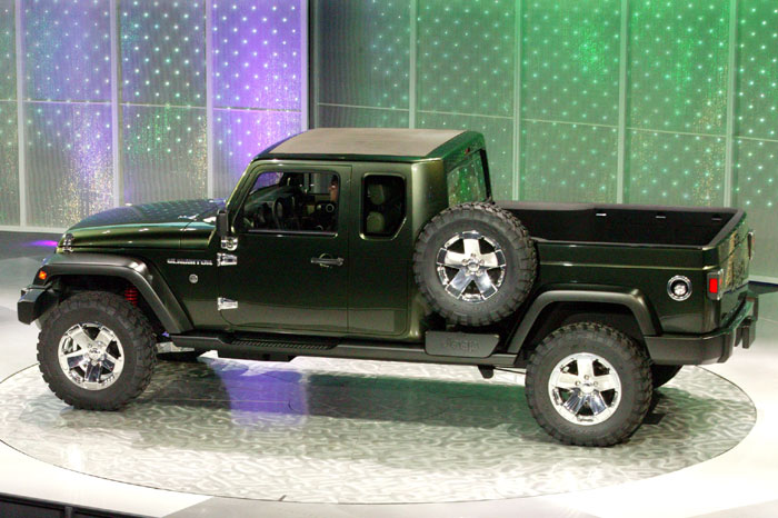 Jeep Gladiator Concept 2015= Un Jeep Wrangler pick-up ...