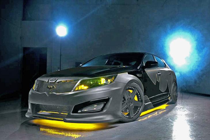 Kia Optima Batman Ser 225 N Ocho Modelos Personalizados Que