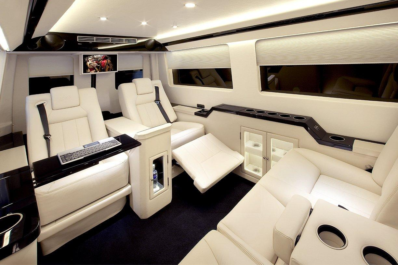Mercedes benz becker jetvan sprinter lujo confort y for Mercedes benz sprinter custom interiors