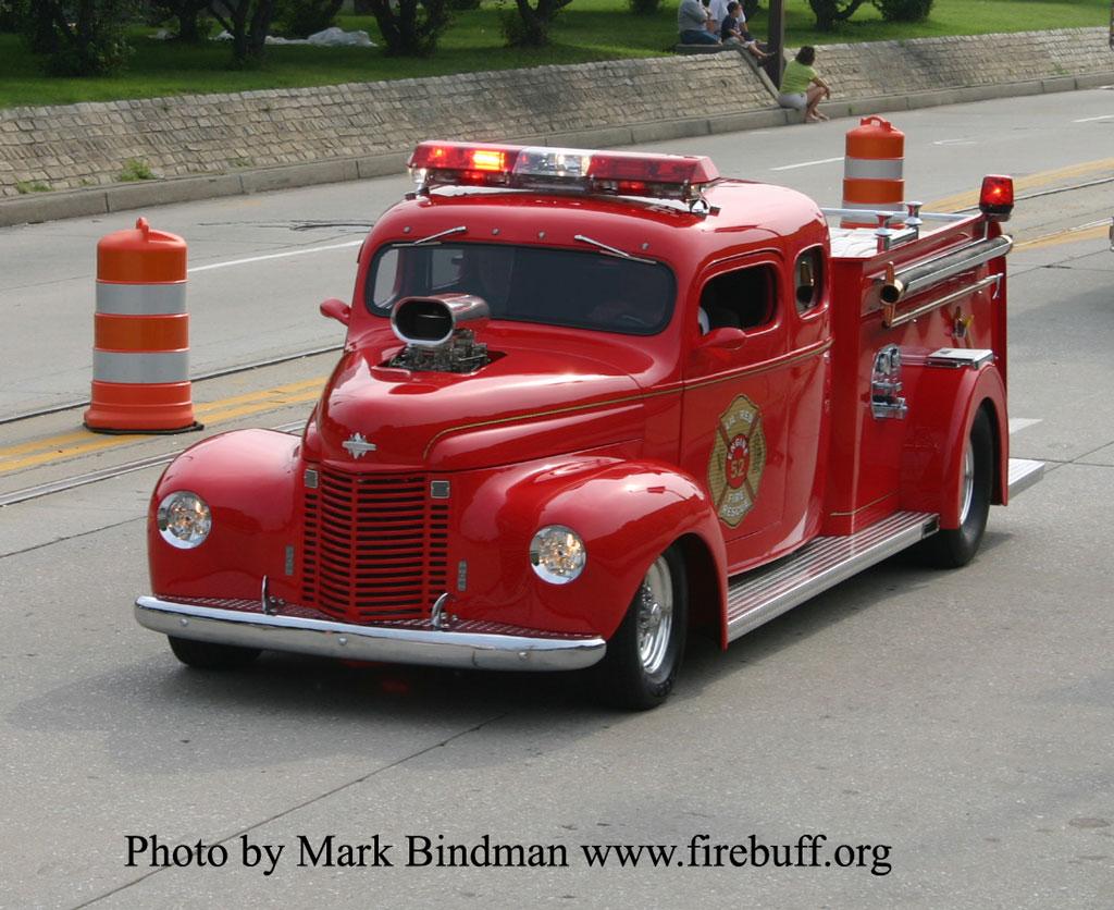 Hot Rod Fire Truck