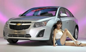 Chevrolet Cruze Sedán 2013: elegante y atractivo