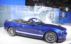 Ford Shelby GT500 Convertible 2013: ahora con 650CV y más divertido de conducir