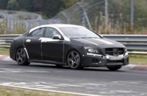 Fotos espías del nuevo Mercedes Benz Clase CLA