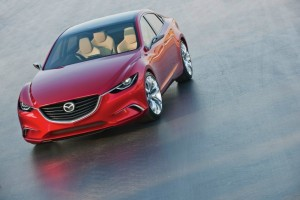 El nuevo Mazda 6 se llama ahora Takeri