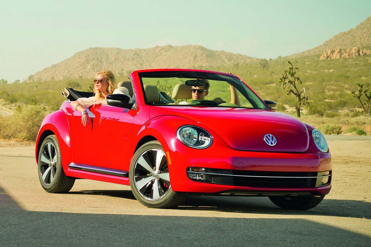 Volkswagen Beetle Cabrio Es Un Carro De Cuatro Plazas