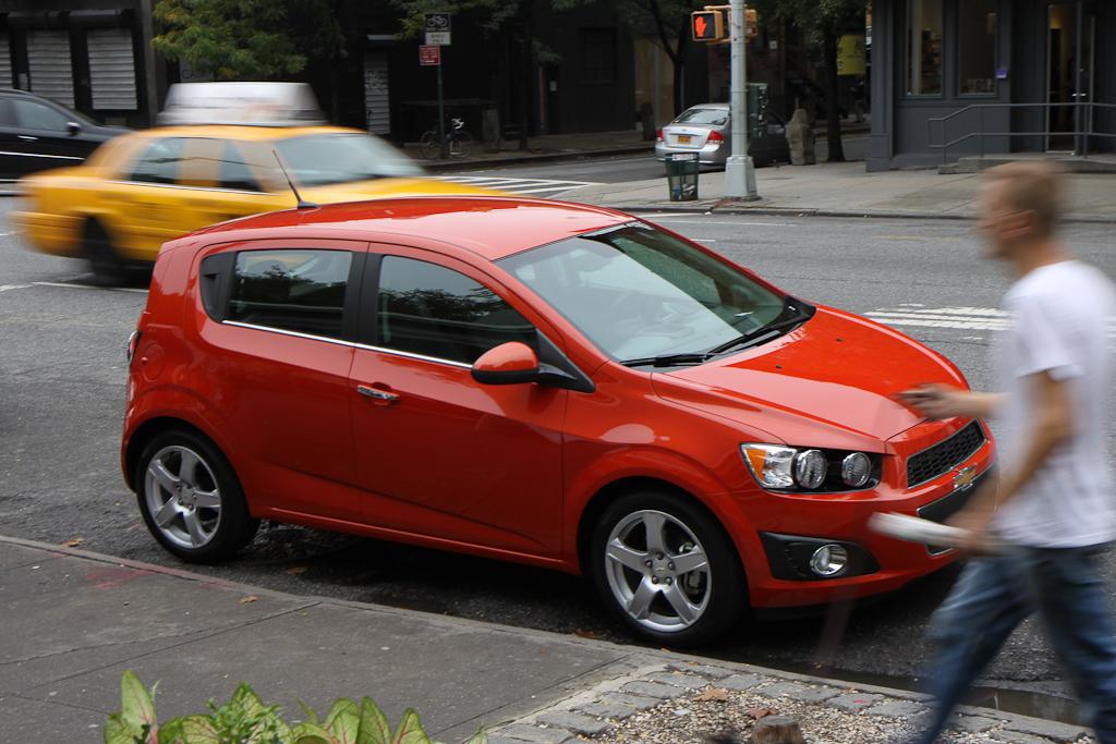 Chevrolet Aveo Hatchback 2013 Calidad Y Ahorro De