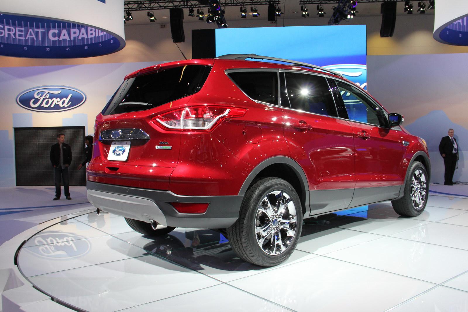 Ford Escape 2013 se ofrece con estas opciones de motor: un 2.5LTS de