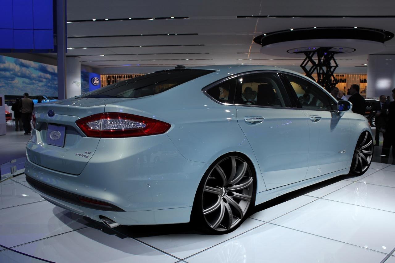 Ford Fusion Hybrid 2013 M 225 S Eficiente Mas Tecnolog 237 A Y