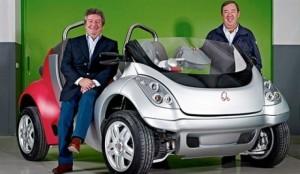 Hiriko ialai: un simpático carro eléctrico urbano