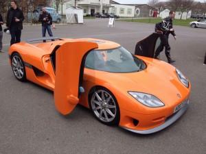Koenigsegg CCR: uno de los carros más rápidos del mundo