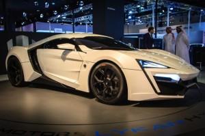 Presentan el Lykan Hypercar, el carro más caro del mundo