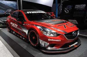 El Mazda6 SKYACTIV-D Race Car se estrenará este sábado 26 de enero