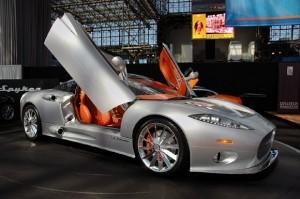 Spyker C8 Aileron: potente,  hermoso y aerodinámico