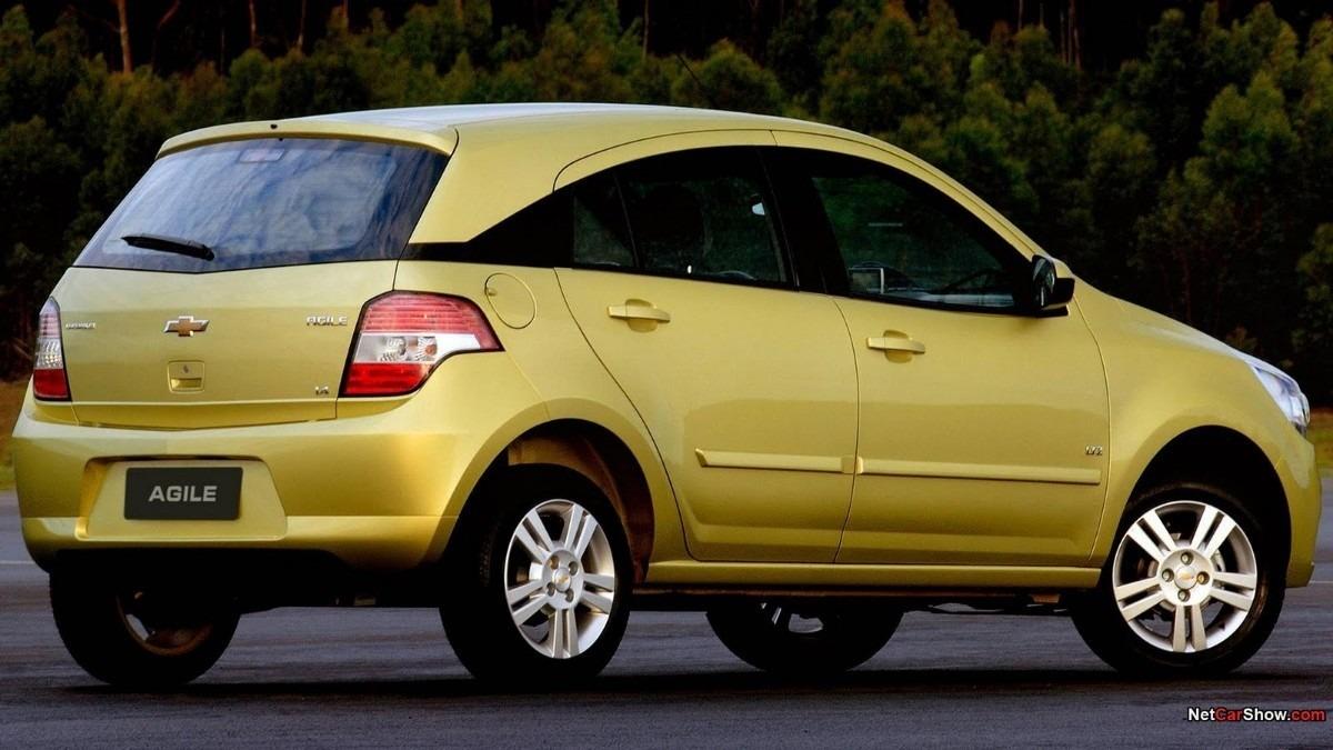 Chevrolet Agile 2013: Se ofrece con un motor 1.4 litros de ocho
