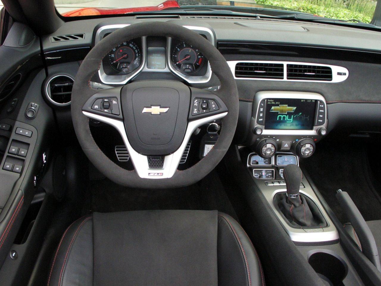 Interior Del Chevrolet Camaro 2013 Lista De Carros